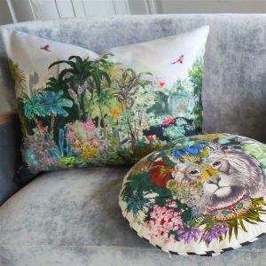 Christian Lacroix cushion Jungle King Opiat