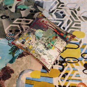 Christian Lacroix rug Grand Tour Tomette