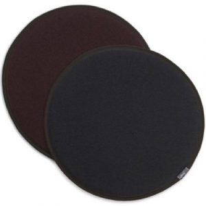 Vitra Seat Dot reversible cushion Dark-grey - Marron