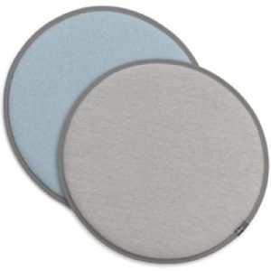 Vitra Seat Dot reversible cushion Grey - Ice-blue