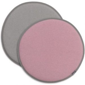 Vitra Seat Dot reversible cushion Pink - Grey