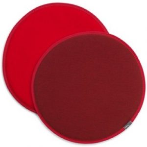 Vitra Seat Dot reversible cushion Red - Burgundy