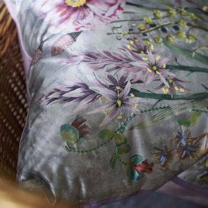 Designers Guild cushion Fritillaria Peony
