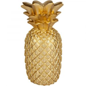 Sunnylife Gold Pineapple candle