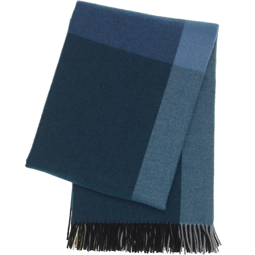 Vitra Colour Block Blanket black-blue