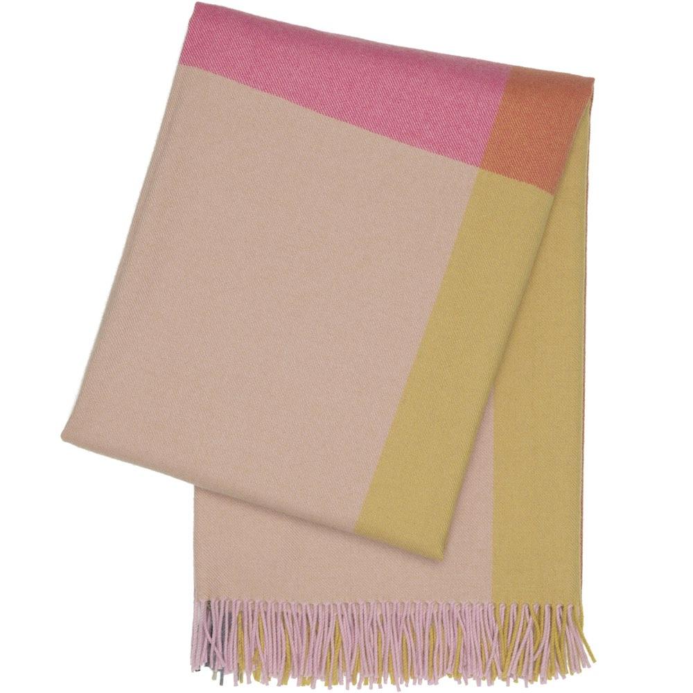 Vitra Colour Block Blanket pink-beige