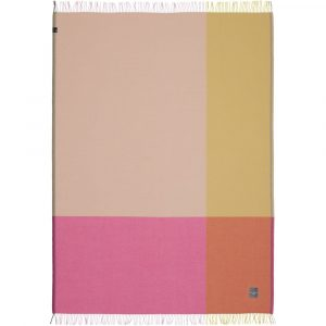 Vitra Colour Block Blanket pink-beige
