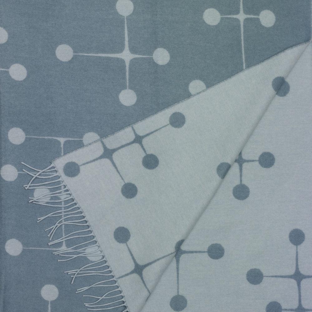 Vitra Eames plaid Dot Pattern light blue