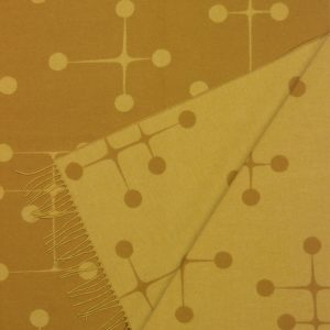 Vitra Eames plaid Dot Pattern mustard