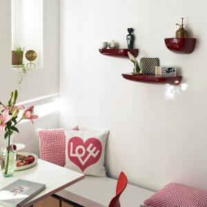 Vitra cushion Maze pink