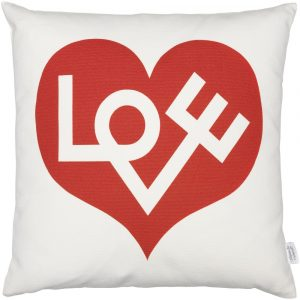 Vitra cushion Love red