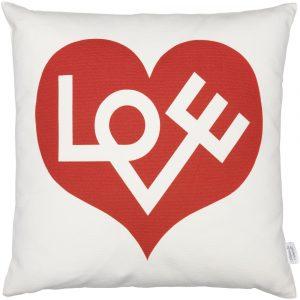 Vitra cushion Love red