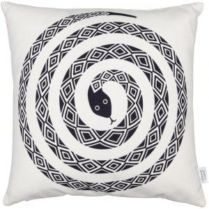 Vitra cushion Snake black