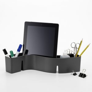 Vitra S-Tidy storage container dark grey