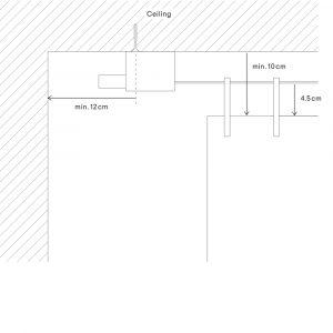 Kvadrat Ready Made Curtain hanging mechanism