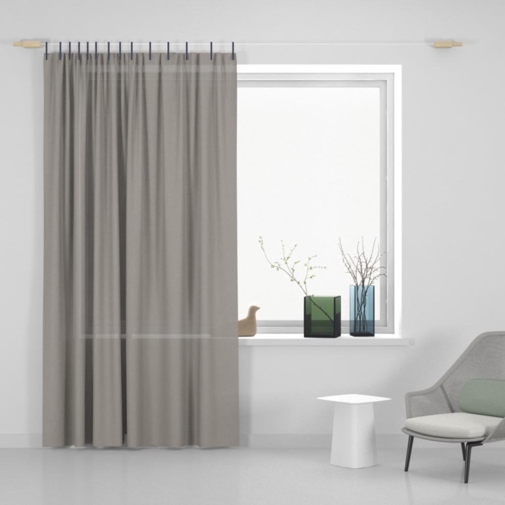 Kvadrat Ready Made Curtain Haze fabric