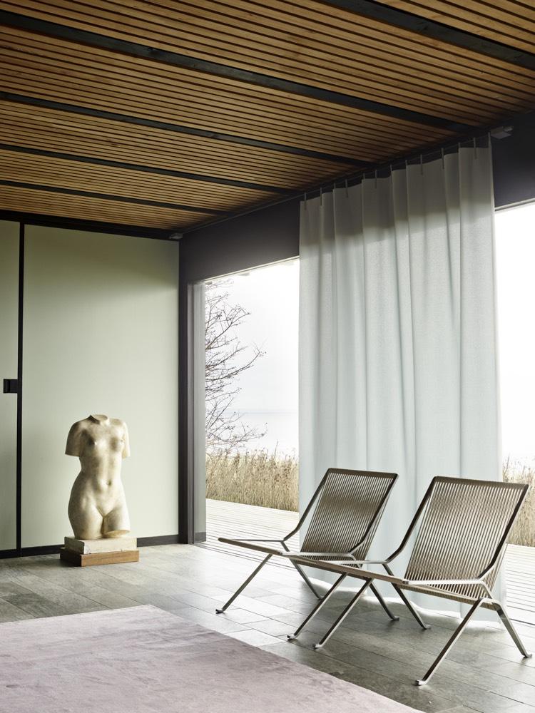 Kvadrat Ready Made Curtain Washi fabric