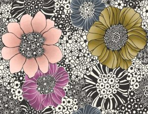 Missoni Home wallpaper Anemones 10001