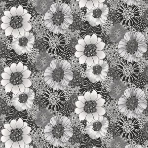 Missoni Home wallpaper panel Anemones metal 20002