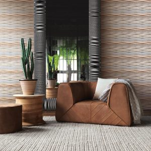Missoni Home wallpaper panel Fireworks metal 20051
