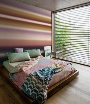 Missoni Home wallpaper panel Riga Sfumata 20092