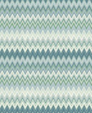 Missoni Home wallpaper Zigzag Multicolore 10063