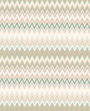 Missoni Home wallpaper Zigzag Multicolore 10065