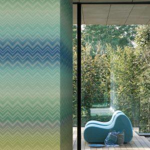 Missoni Home wallpaper panel Zigzag Sfumato 20090