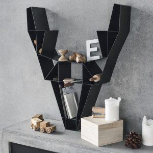 BEdesign Deer Shelf charcoal