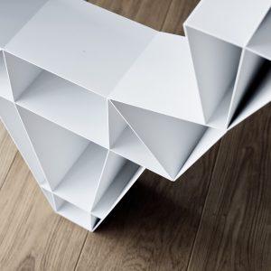 BEdesign Deer Shelf white