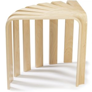 BEdesign Fan Stool natural
