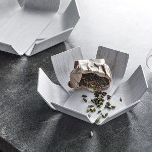 BEdesign Lily Bowl oak white