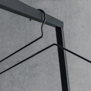 BEdesign Lume coat hanger charcoal