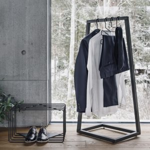 BEdesign Lume coat stand charcoal