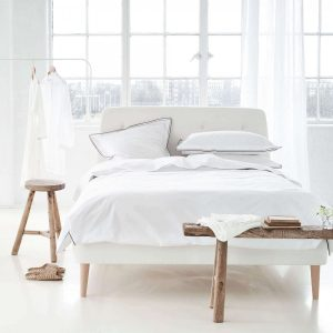 Designers Guild bed linen Astor Natural