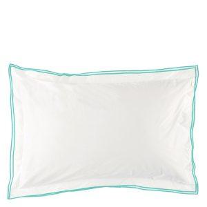 Designers Guild bed linen Astor Aqua