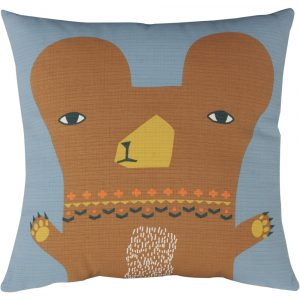 Donna Wilson cushion Bear grey