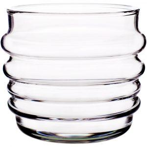 Marimekko tumbler glass Sukat Makkaralla clear 2 pcs