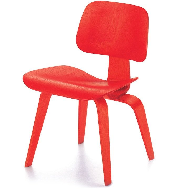 Vitra DCW chair red miniature