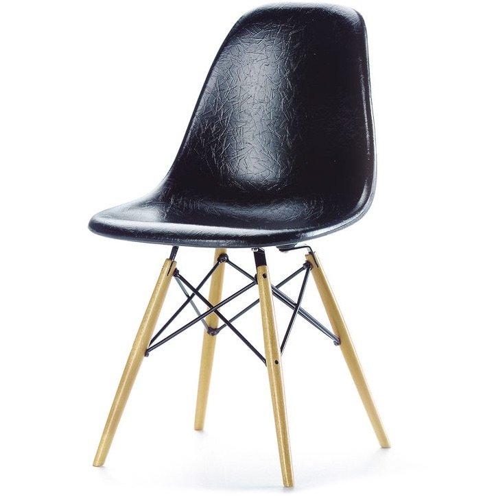 Vitra DSW chair black miniature