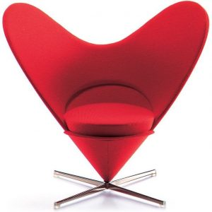 Vitra Heart-shaped Cone chair miniature