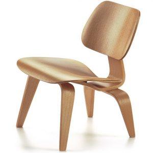 Vitra LCW chair natural miniature