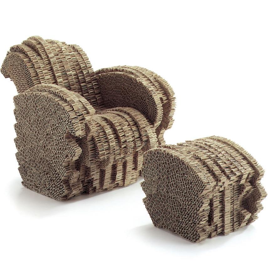 Vitra Little Beaver chair miniature