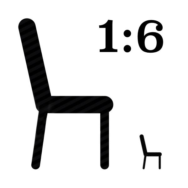 Vitra LCM chair black miniature