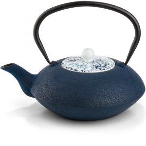 Bredemeijer teapot Asia Yantai dark-blue