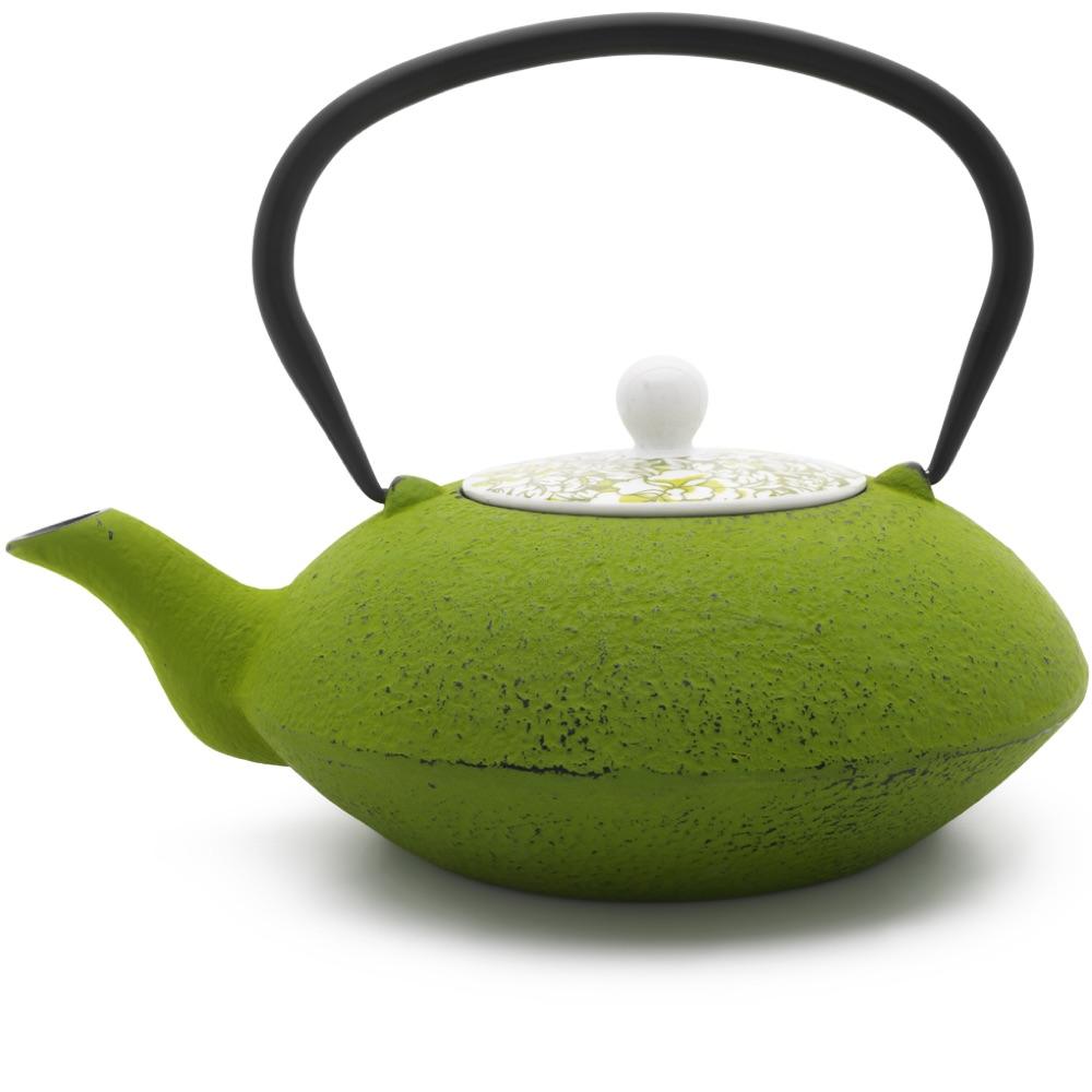 Bredemeijer teapot Asia Yantai green