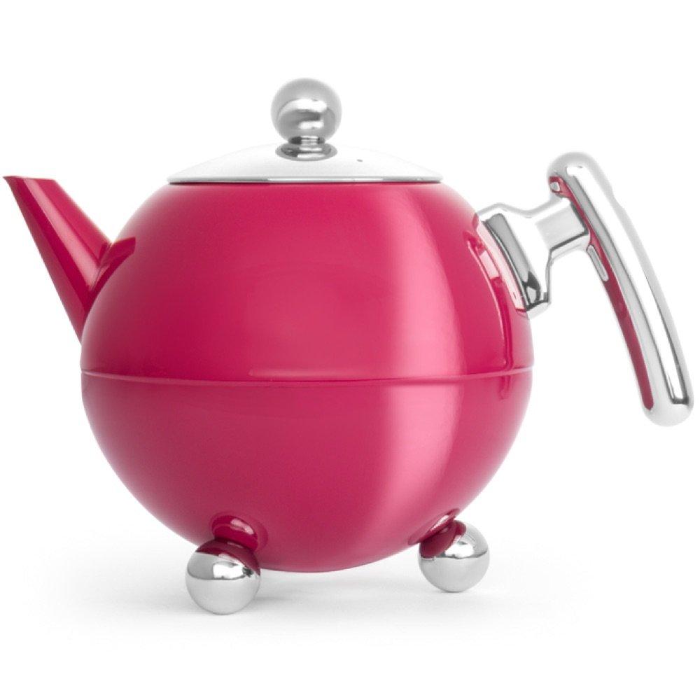Bredemeijer teapot Duet Bella Ronde Fuchsia