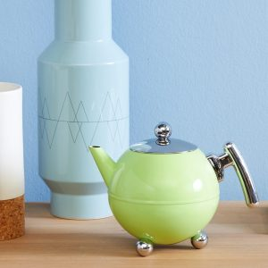 Bredemeijer teapot Duet Bella Ronde Spring Green