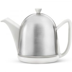 Bredemeijer teapot Cosy Manto Spring-white matt