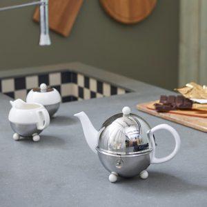 Bredemeijer teapot Cosy white